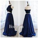 Halter Prom Dress,Backless Prom Dresses,Evening Dress