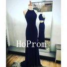 Halter Prom Dress,Sleeveless Prom Dresses,Evening Dress