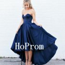 Sweetheart Prom Dress,Hi-Lo Prom Dresses,Evening Dress