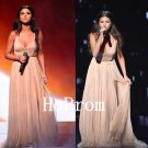 Simple Chiffon Prom Dress,A-Line Prom Dresses,Evening Dress