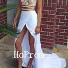 High Neck Prom Dress,Beading Prom Dresses,Evening Dress