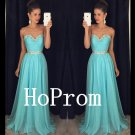 Sweetheart Beaded Prom Dress,Crystals Prom Dresses,Evening Dress