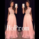 High Neck Prom Dress,Sleeveles Prom Dresses,Evening Dress