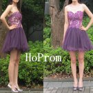 Sweetheart Short Homecoming Dress,Strapless Homecoming Dresses,Prom Dress