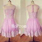 A-Line Homecoming Dress,Sleeveless Homecoming Dresses,Prom Dress