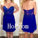 Sweetheart Homecoming Dress,Royal Blue Homecoming Dresses,Prom Dress