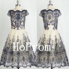 Elegant Homecoming Dress,Knee Length Homecoming Dresses,Prom Dress