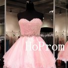 Cute Pink Homecoming Dress,Sweetheart Homecoming Dresses,Prom Dress