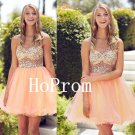 One Shoulder Homecoming Dress,Tulle Homecoming Dresses,Prom Dress