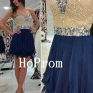 Sweetheart Homecoming Dress,Beaded Short Homecoming Dresses,Prom Dress