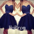 Sweetheart Short Homecoming Dress,Beading Homecoming Dresses,Prom Dress