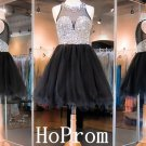 Sparkly Black Homecoming Dress,Short Homecoming Dresses,Prom Dress