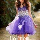 Sweetheart Homecoming Dress,Purple Homecoming Dresses,Prom Dress