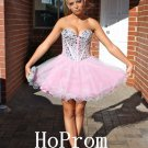 Sweetheart Pink Homecoming Dress,Short Homecoming Dresses,Prom Dress