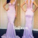 Mermaid Long Prom Dress,Applique Prom Dresses,Evening Dress