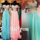 A-Line Prom Dress,Beading Prom Dresses,Evening Dress