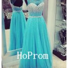 Sleeveless Beading Prom Dress,Coral Prom Dresses,Evening Dress