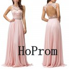 Sleeveless Prom Dress,A-Line Prom Dresses,Evening Dress