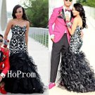 Sweetheart Prom Dress,Ruffles Prom Dresses 2017