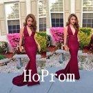 V-Neck Sexy Prom Dress,Mermaid Prom Dresses 2017