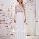 White Lace Prom Dress,A-Line Prom Dresses 2017