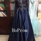Long Sleeve Prom Dress,Plus Size Prom Dresses 2017