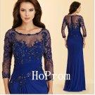 Royal Blue Prom Dress,Beading Prom Dresses 2017