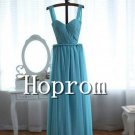 Simple Chiffon Prom Dresses,A-Line Prom Dress 2017