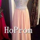 Strapless Pink Prom Dress,Sparkly Prom Dresses 2017