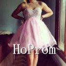 Sweetheart Prom Dress,Short Mini Prom Dresses  2017