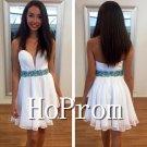 Sleeveless Prom Dress,A-Line Prom Dresses  2017