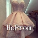 Elegant Sweetheart Prom Dress,Short Prom Dresses  2017