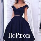 Knee Length Homecoming Dresses,A-Line Prom Dresses