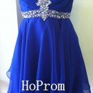 Royal Blue Homecoming Dresses,Sweetheart Prom Dresses