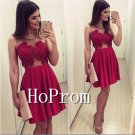 A-Line Homecoming Dresses,Red Prom Dresses