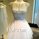 A-Line Homecoming Dresses,Beading Prom Dresses