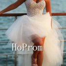 High Low Homecoming Dresses,Sweetheart Prom Dresses