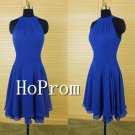 A-Line Homecoming Dresses,Royal blue Prom Dresses