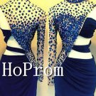 One Shoulder Homecoming Dresses,High Neck Prom Dresses