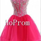 Elegant Strapless Homecoming Dresses,A-Line Prom