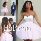 Silver Sequins Homecoming Dresses,Pink Short Prom Dresses