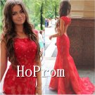 Cap Sleeve Prom Dress,Backless Lace Prom Dresses