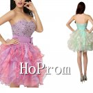 Sweetheart Bandage Prom Dress,Short Mini Prom Dresses