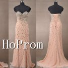 Luxury Mermaid Prom Dresses,Beaded Prom Dress