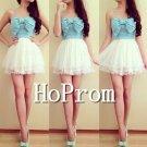 Spaghetti Straps Prom Dress,Short Mini Prom Dresses