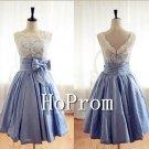Lace Satin Prom Dresses,Sleeveless Prom Dresses