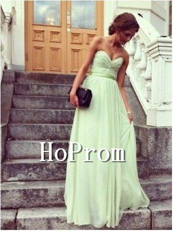 Simple Chiffon Prom Dresses,Bandage Prom Dresses