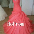 Sweetheart Prom Dresses,Sweep Train Prom Dresses