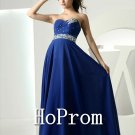 Royal Blue Prom Dresses,Sweetheart  Prom Dress