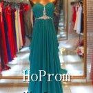 Strapless Sweetheart Prom Dresses,Chiffon Prom Dress